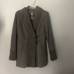 Vince camuto gray winter coat m